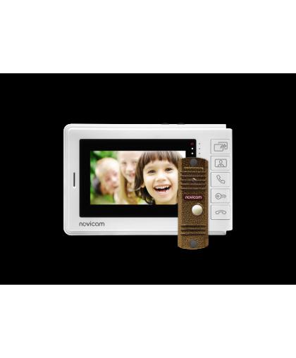 """SMILE 4 KIT - комплект из 4.3"""" монитора и вызывной панели"""