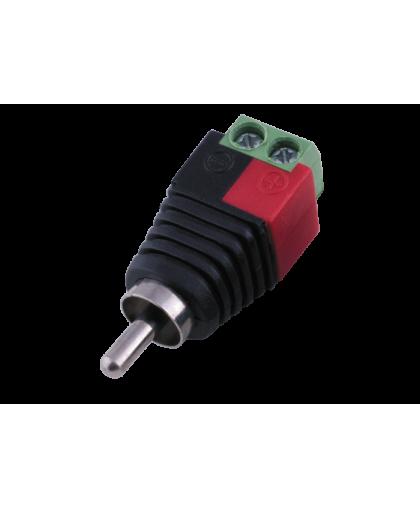 PV-T2RCA - коннектор для подключения кабеля к RCA разъему устройства