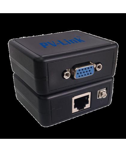 PV-VGA01E - одноканальный пассивный приемопередатчик VGA видеосигнала